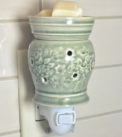 scented candle wax plug in warmer