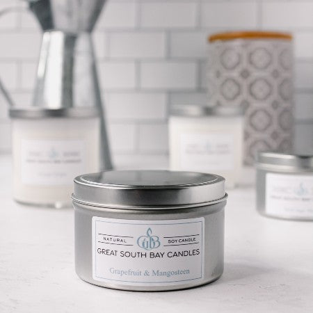 citrus soy candle grapefruit and mangosteen