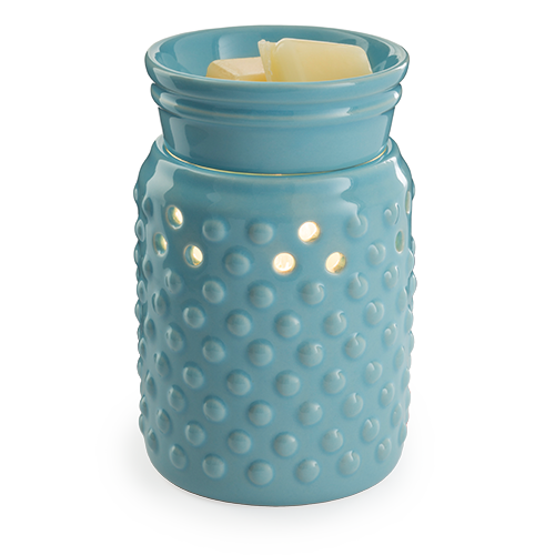 Hobnail electric candle melt fragrance warmer - Great South Bay Candles