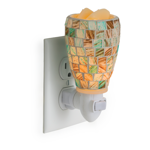 Sea Glass Plug In Candle Warmer - Great South Bay Candles