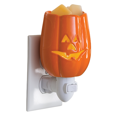 Jack O' Lantern Plug In Candle Fragrance Warmer - Great South Bay Candles