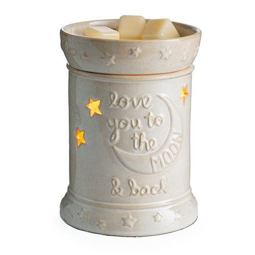 Love You To the Moon and Back electric candle frgrance warmer  - Great South Bay Candles