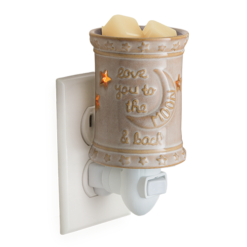 Love You to the Moon and Back Plug In Candle Melt Fragrance Warmer - Great South Bay Candles
