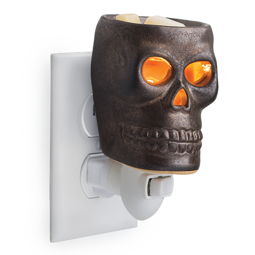 Skull Plug In Candle Fragrance Warmer - Great South Bay Candles