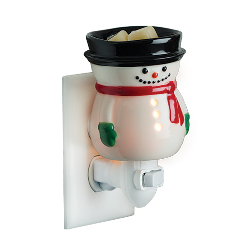 Snowman Plug In Candle Fragrance Warmer - Great South Bay Candles