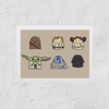 Poster Star Wars - Personagens Babies
