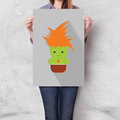 Poster Street Fighter Mini - Blanka