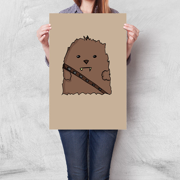 Poster Star Wars - Chewbacca Baby