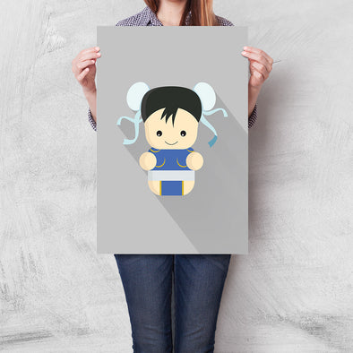Poster Street Fighter Mini - Chun-Li