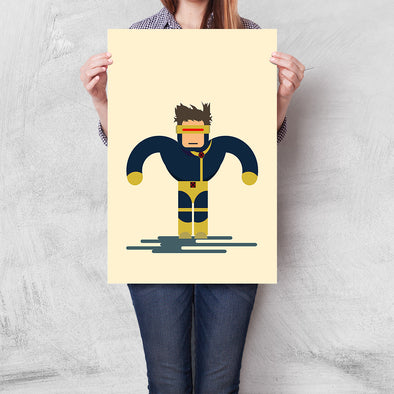 Poster X-Men - Cyclops Flat