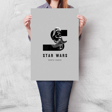 Poster Star Wars - S Is For Star Wars
