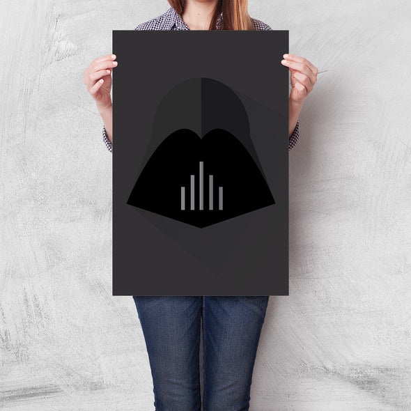 Poster Star Wars - Darth Vader Minimalista