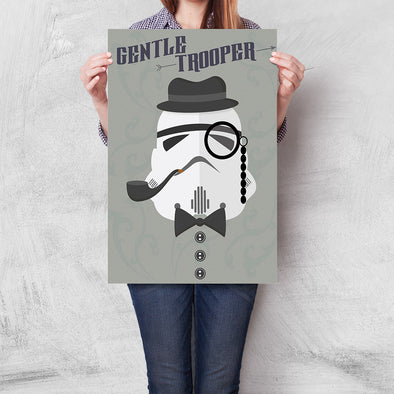 Poster Star Wars - Gentletrooper