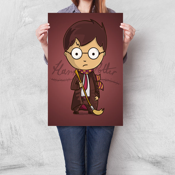 Poster Chibi Potter (Harry Potter)