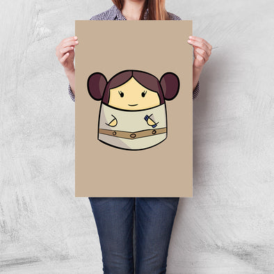 Poster Star Wars - Leia Baby