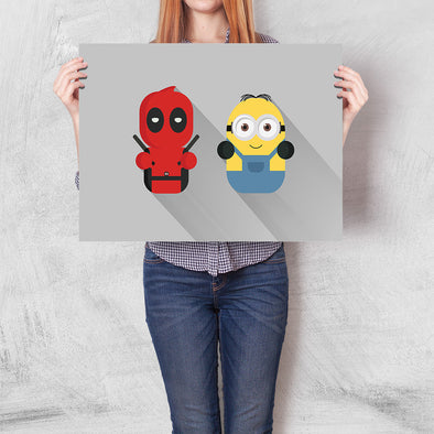 Poster Deadpool & Minion