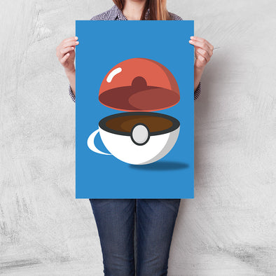 Poster Pokemon - Pokecafé
