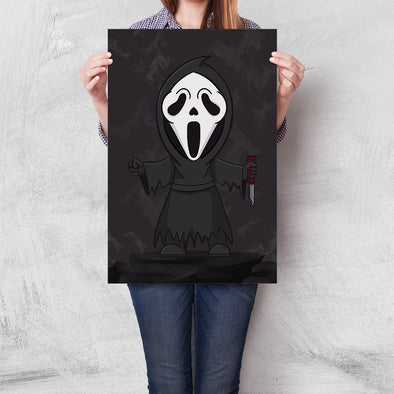Poster Scream - Ghostface Cartoon