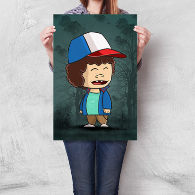 Poster Crazy Dustin (Stranger Things)