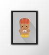 Poster Street Fighter Mini - Dhalsim