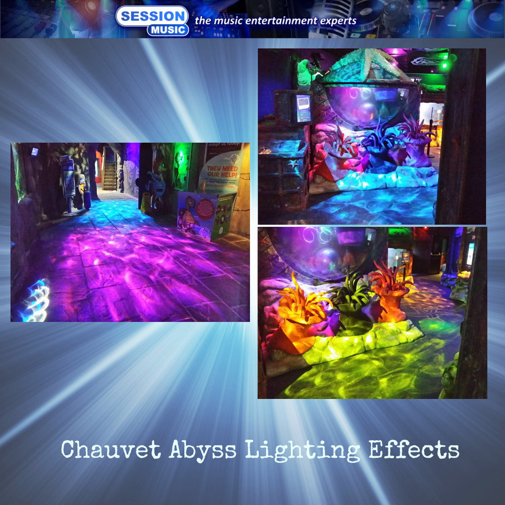 Chauvet Lighting Effects At SeaLife and Madame Tussauds