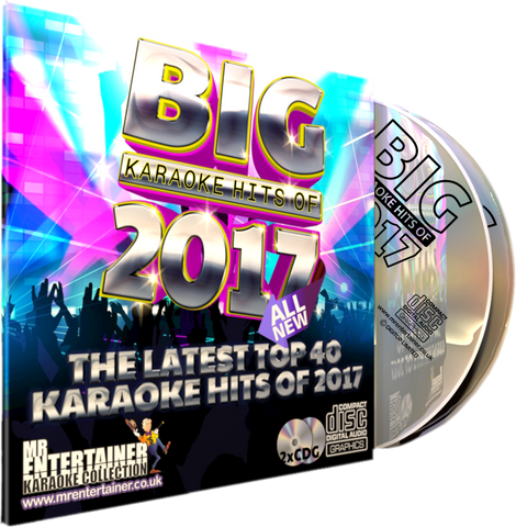 Mr Entertainer Big Karaoke Hits of 2017 ALL NEW