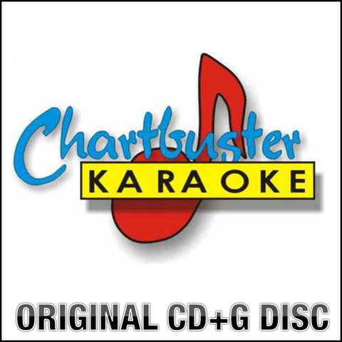 Chartbuster CB40062 CDG karaoke disc (6 tracks): Male Pop