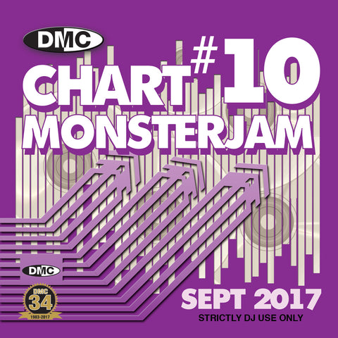 DMC Chart Monsterjam 10