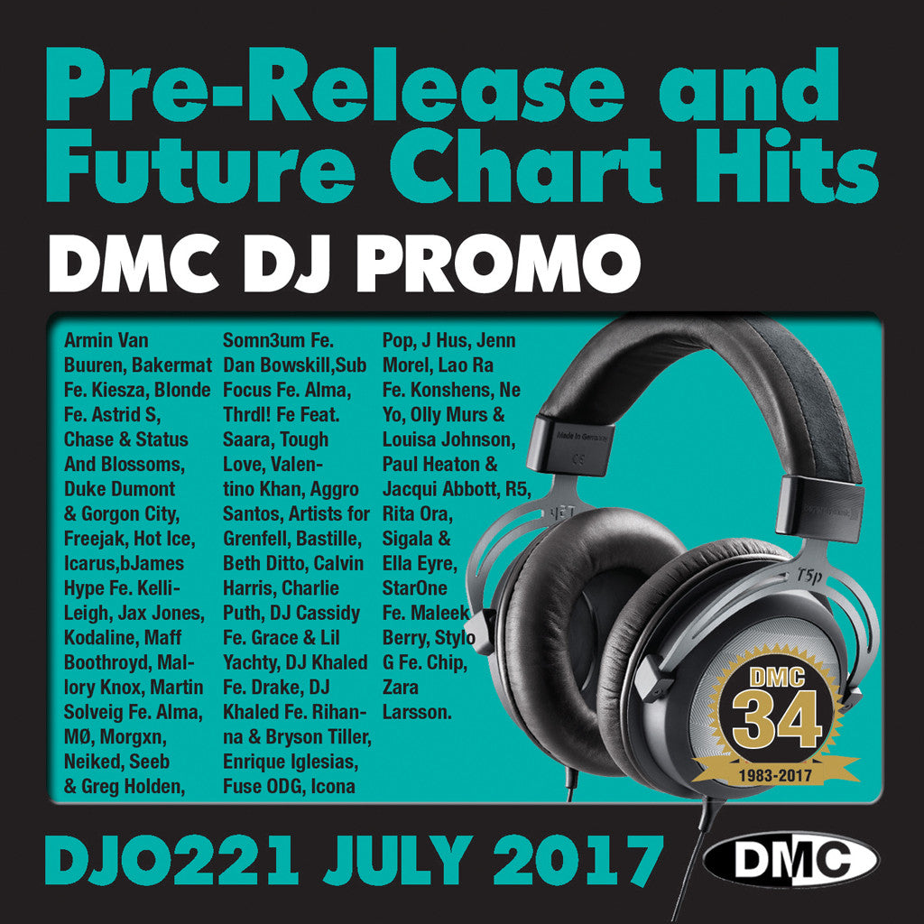 DMC DJ Promo 221 July 2017