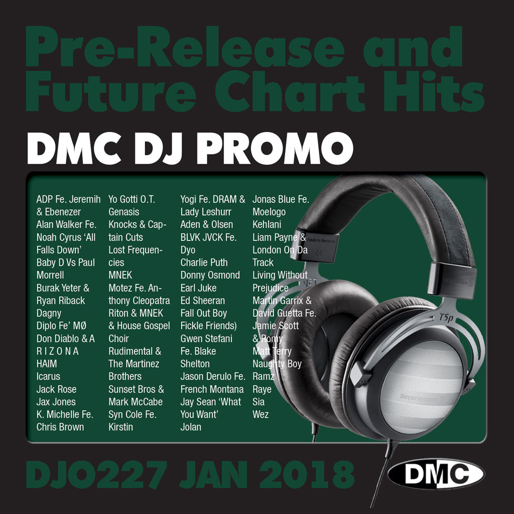 DMC DJ Promo 227 January 2018