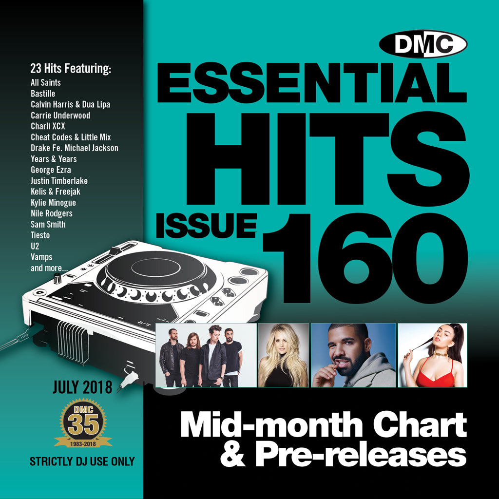 DMC Essential Hits 160 July 2018
