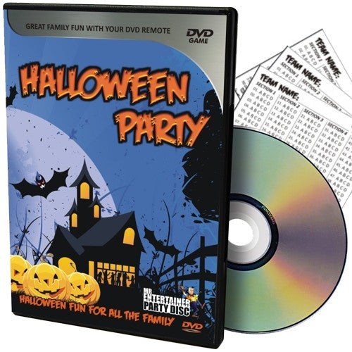 Mr Entertainer Halloween PartyDisc DVD