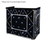 Equinox Truss Booth LED Starcloth System CW