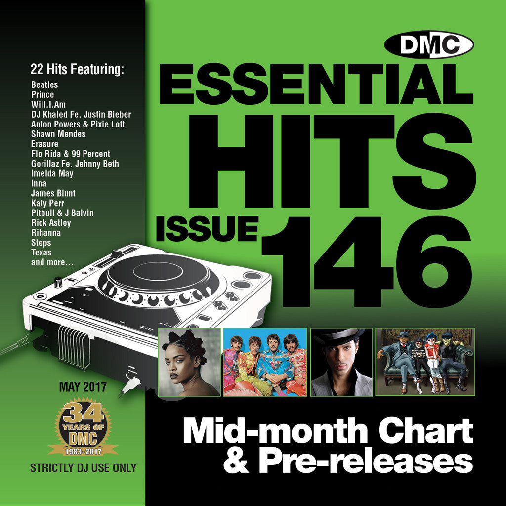 DMC Essential Hits 146 May 2017