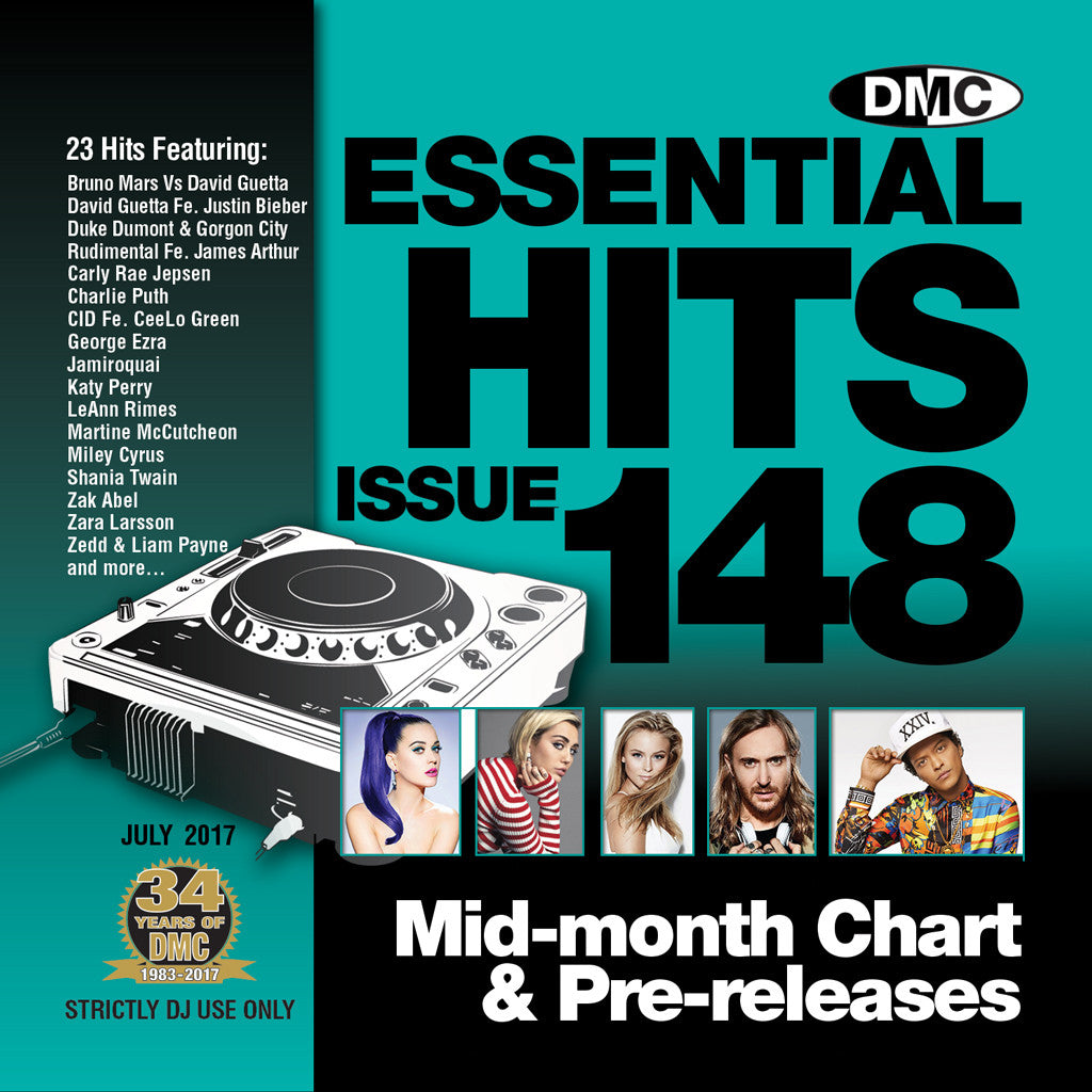 DMC Essential Hits 148 July 2017