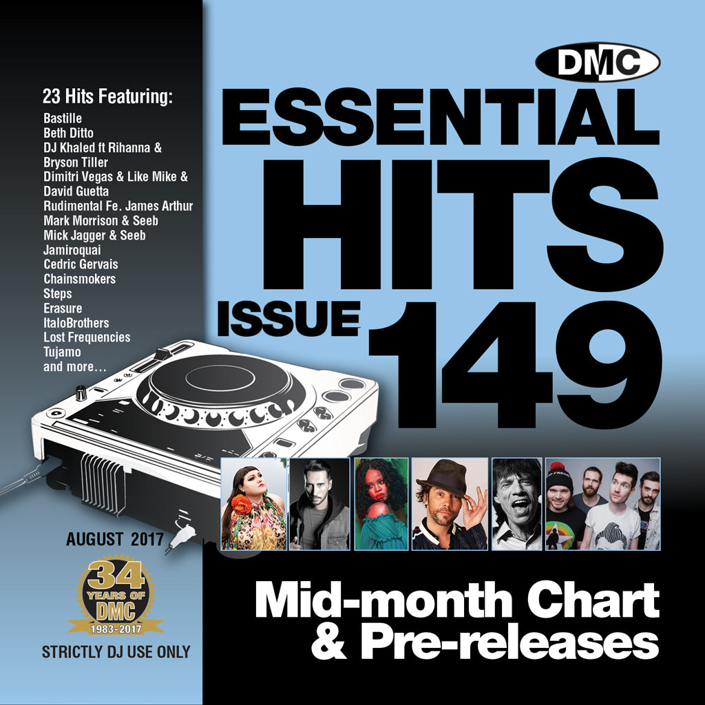 DMC Essential Hits 149 August 2017