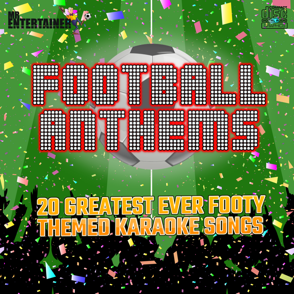 Mr Entertainer Karaoke Football Anthems