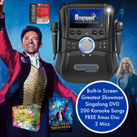 Greatest Showman Karaoke Machine Package