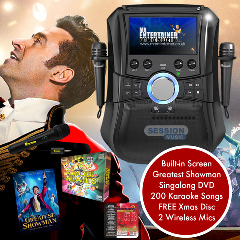 Greatest Showman Karaoke Package With Wireless Mics