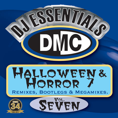 DMC DJ Essentials Halloween & Horror 7 - Remixes, Bootlegs & Megamixes