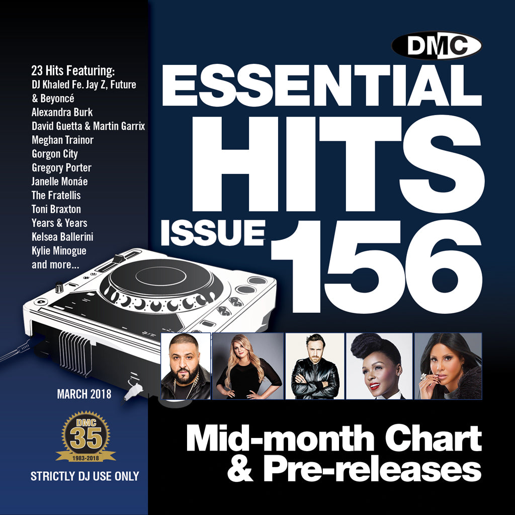 DMC Essential Hits 156 March 2018