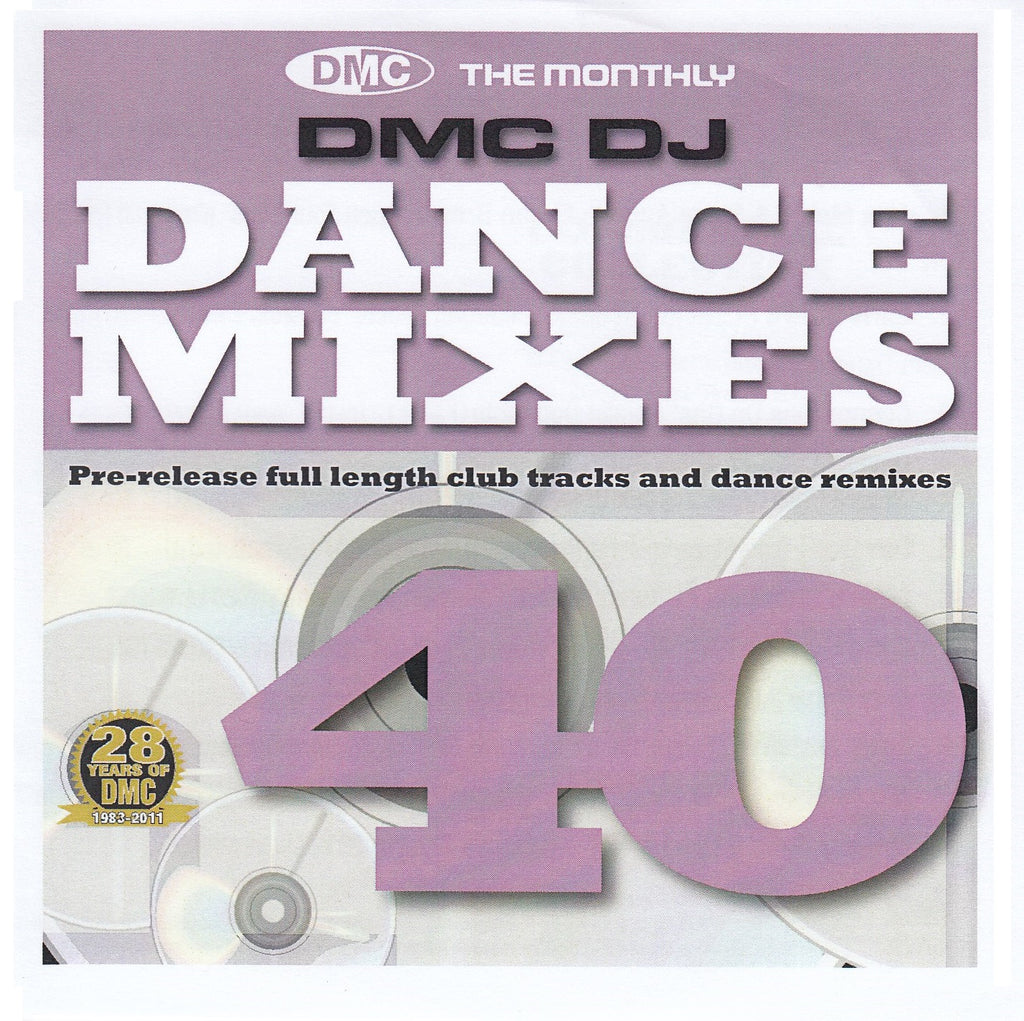 DMC Dance Mixes 40 May 2011