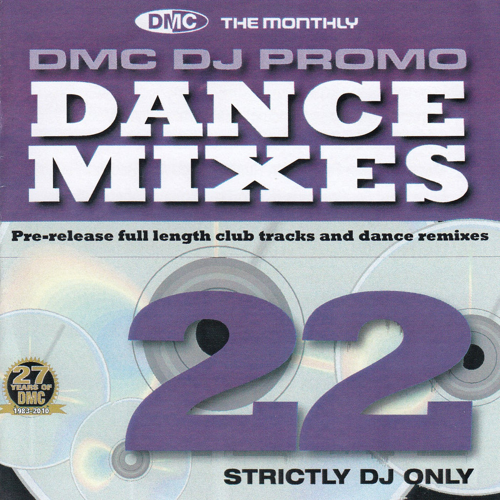 DMC DJ Only Dance Mixes 22