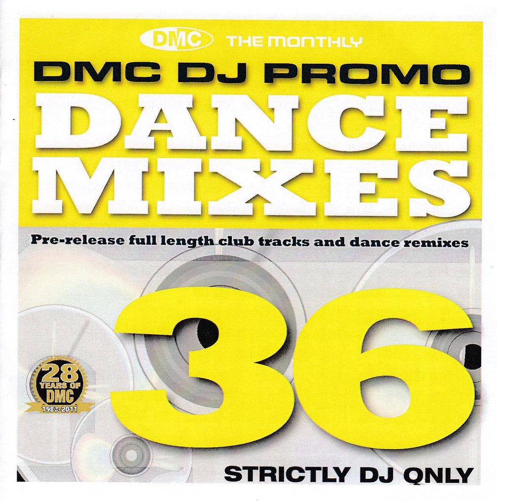 DMC DJ Only Dance Mixes 36