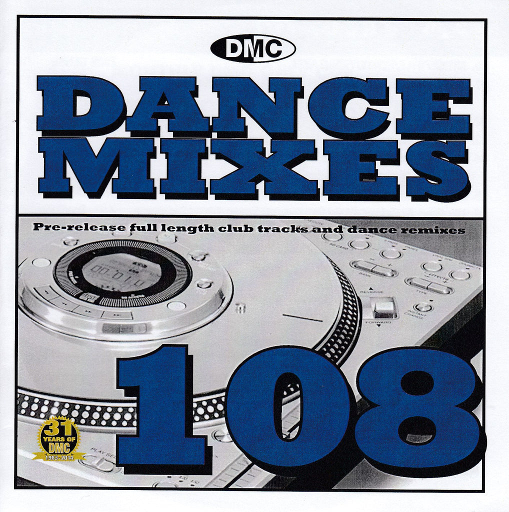 DMC Dance Mixes 108