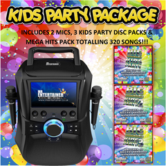 Mr Entertainer Megabox Kids Party Karaoke Package