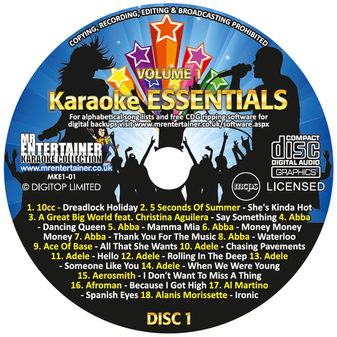 Buble 1 Disc 20 Top Tracks Zoom Karaoke Cdg Legends Volume 2 M Karaoke Entertainment