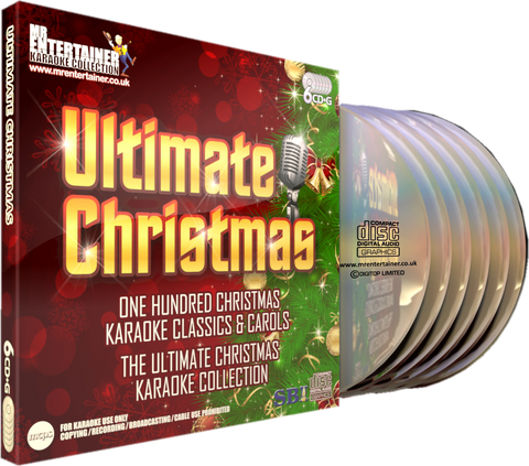Mr Entertainer Karaoke Ultimate Christmas - 100 Song 6 Disc CD+G Set