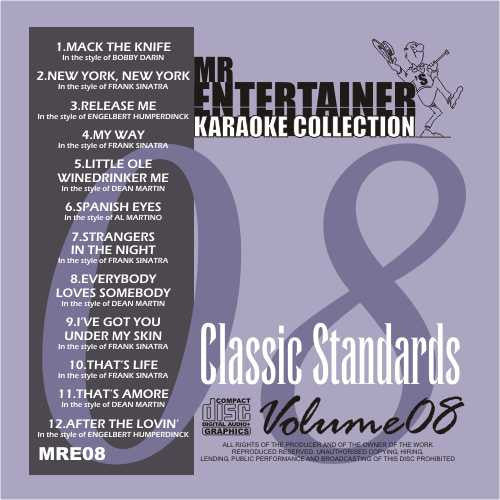 MRE08 - Classic Standards