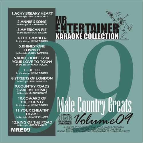 MRE09 - Male Country Greats